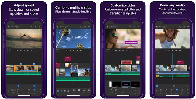 Best iPhone & iPad Apps for Video Editing ADOBE RUSH