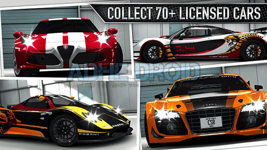 Download game CSR Racing V3.1.0 Apk + Mod + Data Terbaru