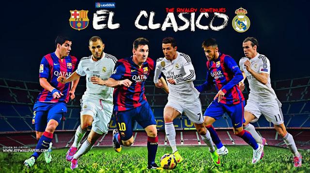 El Clasico 2015 HD Wallpapers
