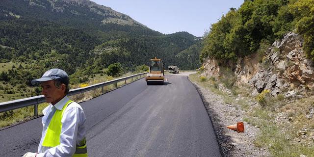 Αποκατάσταση φθορών στο οδικό δίκτυο της Αργολίδας