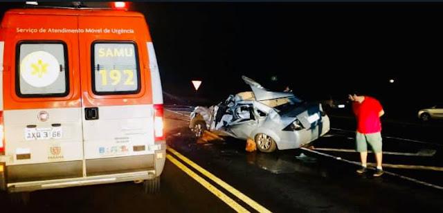 Campo Mourão: Homem morre em acidente na BR-158