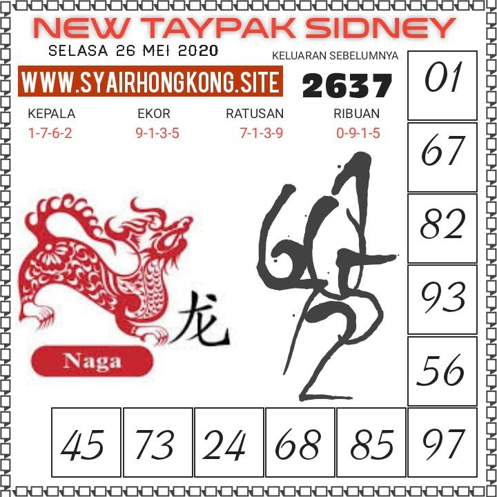 Prediksi Syair Sydney 26 Mei 2020