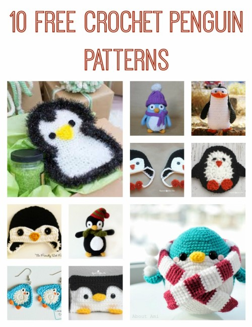 Free Crochet Penguin Patterns