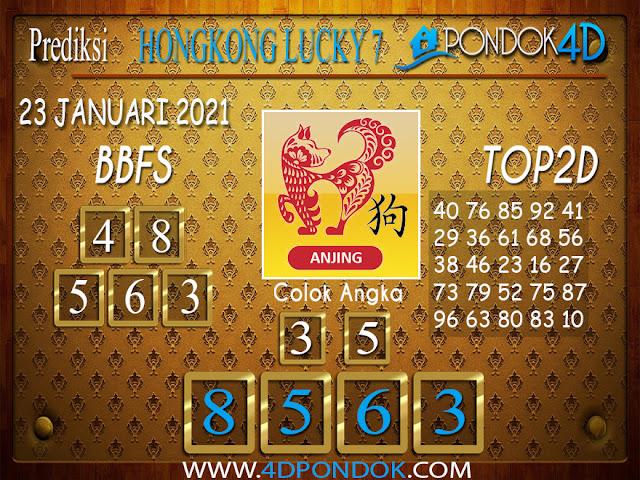 Prediksi Togel HONGKONG LUCKY 7 PONDOK4D 23 JANUARI 2021