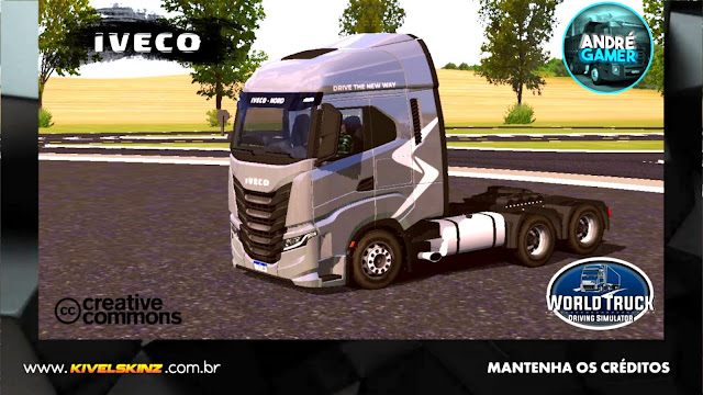 IVECO S-WAY - CINZA ORIGINAL