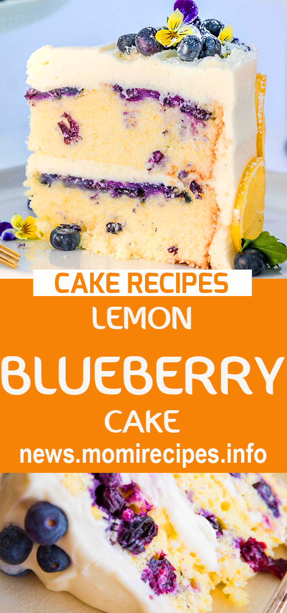 Lemon blueberry cake | cake recipe, dessert recipes, chocolate cake recipe, carrot cake recipe, chocolate cake, easy cake recipes, cheesecake recipe, easy dessert recipes, baking recipes, sponge cake recipe, simple cake recipe, fruit cake recipe, vanilla cake recipe, pound cake recipe, chocolate recipes. #cakerecipes #dessertrecipes #lemoncake #lemonblueberrycake