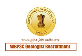 WBPSC Geologist Recruitment 2020