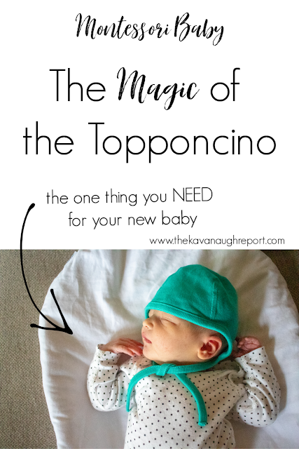 A look at the Montessori topponcino - why they are used and why the are amazing for your newborn