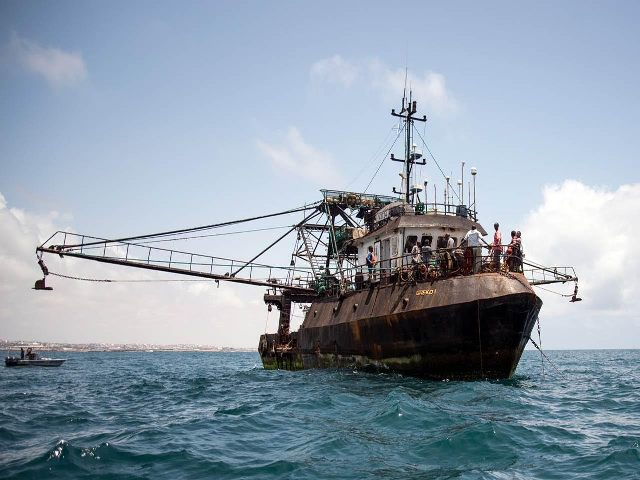 A sea without coast guards: Foreign illegal trawling and waste dumping in Somalia's waters