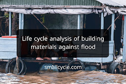Life Cycle Analysis of Building Materials Against Flood