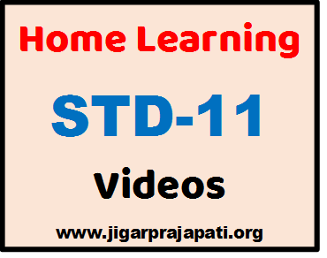 "[STD-11] DD Girnar Live TV ""Home Learning"" Videos by GCERT, SSA Gujarat"