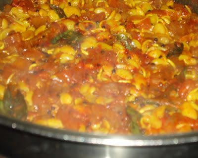 kadve vaal cooked