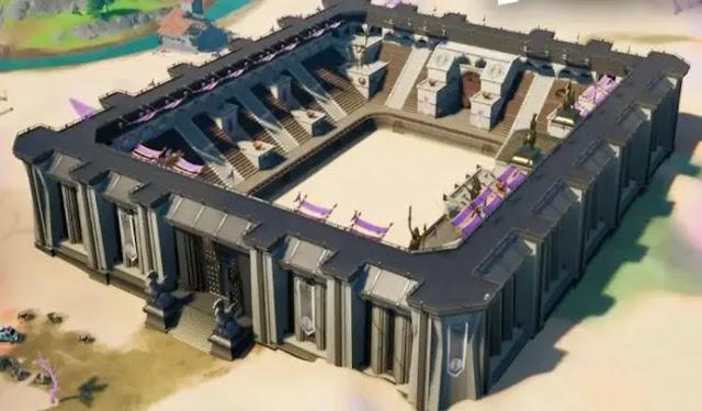 يكشف تسرب Fortnite عن تغيير كبير في خريطة الموسم الخامس