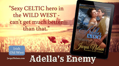 """Book Review """"Sexy Celtic hero in the Wild West - can't get much better than that."""""""