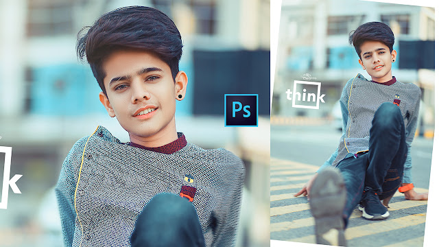 Brown Colour Tone Photo Editing Tutorial | How To Retouching Photoshop CC Editing Tutorial