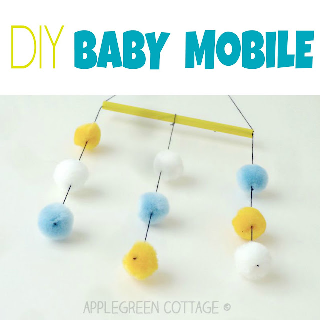 diy baby mobile instructions