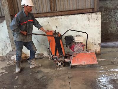 Khoan cắt bê tông Quảng Bình