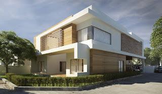 Kombinasi warna cat dalam rumah minimalis