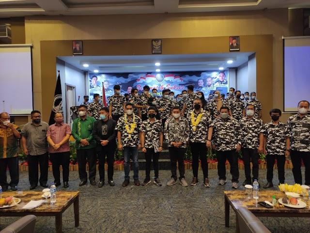 Wakil Walikota Pematang Siantar Togar Sitorus SE.MM Diwakili Staf Ahli Walikota Drs Daniel Siregar Hadiri Pelantikan DPD BAPERA