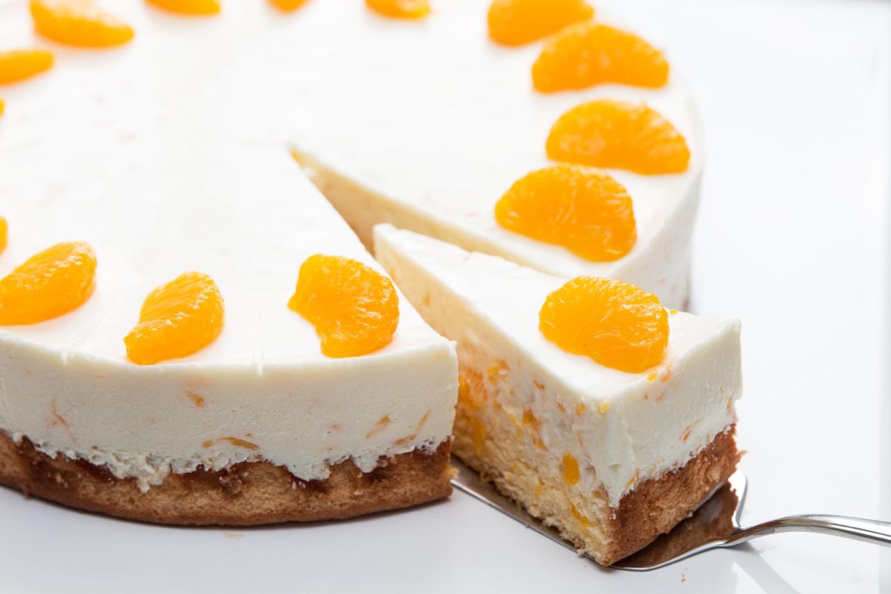 Kuchen Quiche Gastbeitrag Mandarinen Kase Sahne Torte