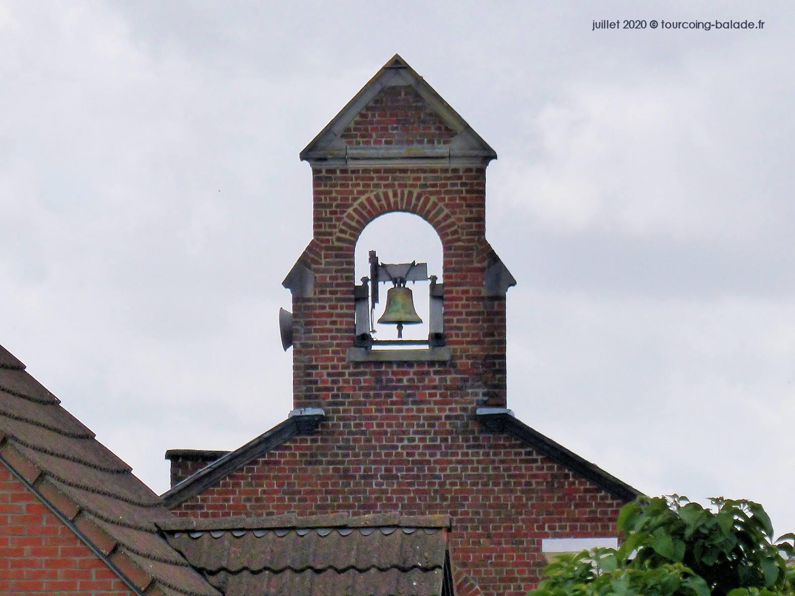 Cloche de l'église Saint Blaise, Tourcoing 2020