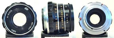 Industar-61 L/D Silver Nose 53mm F2.8 (M39-mount) #947