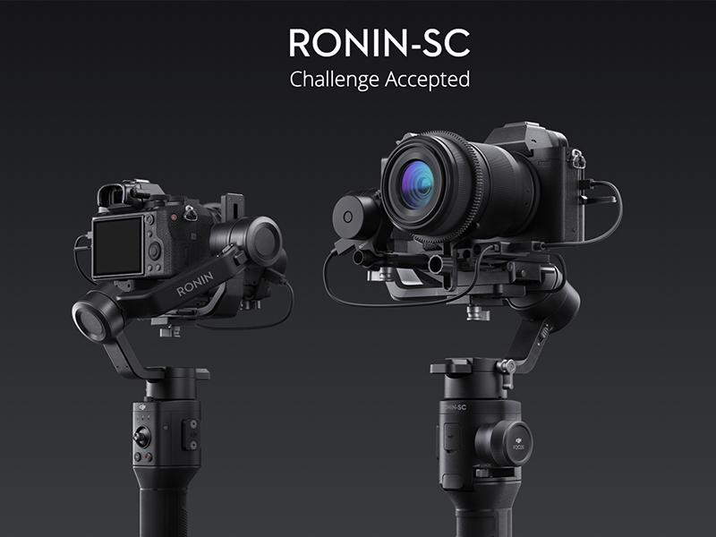 DJI Ronin-SC renders