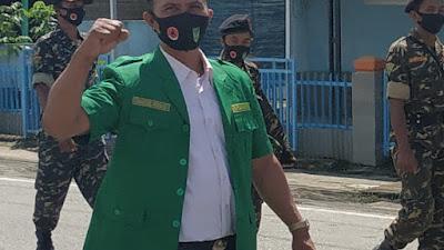 Dukung TNI/Polri, GP Ansor Inhil Tegaskan Tolak Upaya Memecah Belah NKRI