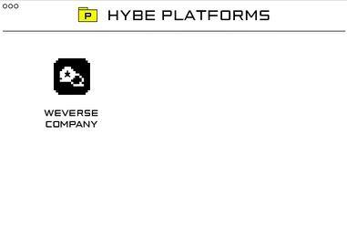 hybe platforms