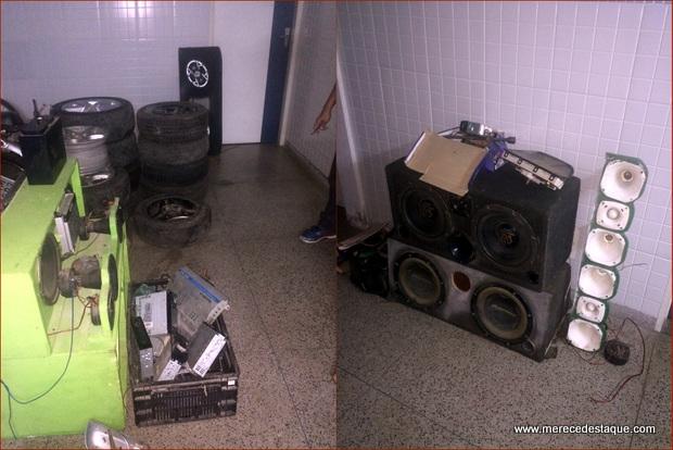 Três pessoas são detidas em Surubim com carros roubados e peças automotivas