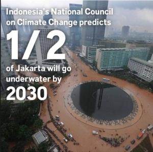 Gambar Dp Bbm Banjir Jakarta will go underwater