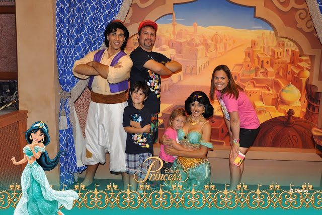 Disney - Onde encontrar as Princesas - Jasmine e Alladin