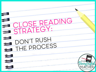 Close Reading Strategies That Work: Ideas for Middle School ELA and High School English