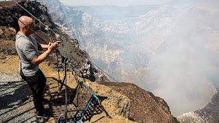 Nik Wallenda Masaya Volcano High-wire