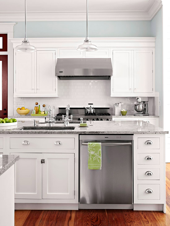 Modern Furniture 2012 White Kitchen Cabinets Decorating ...
