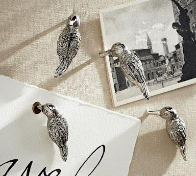Woodpecker Push Pins