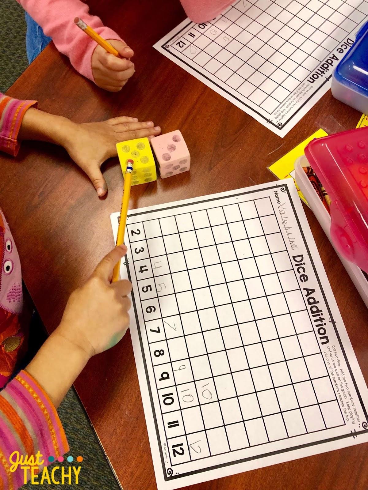 Introducing Addition In Kindergarten