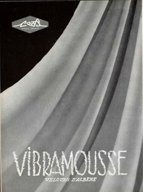 Publicité pour les velours d albène