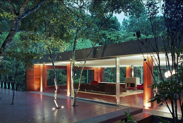 bedroom design blog: Modern Design Glass House In The ... on Modern Glass House Design  id=34722