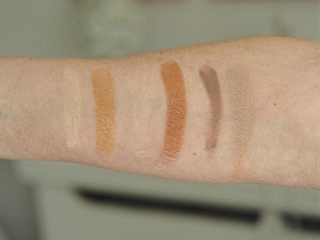 Aldi Lacura Naturals Eyeshadow Palette 2