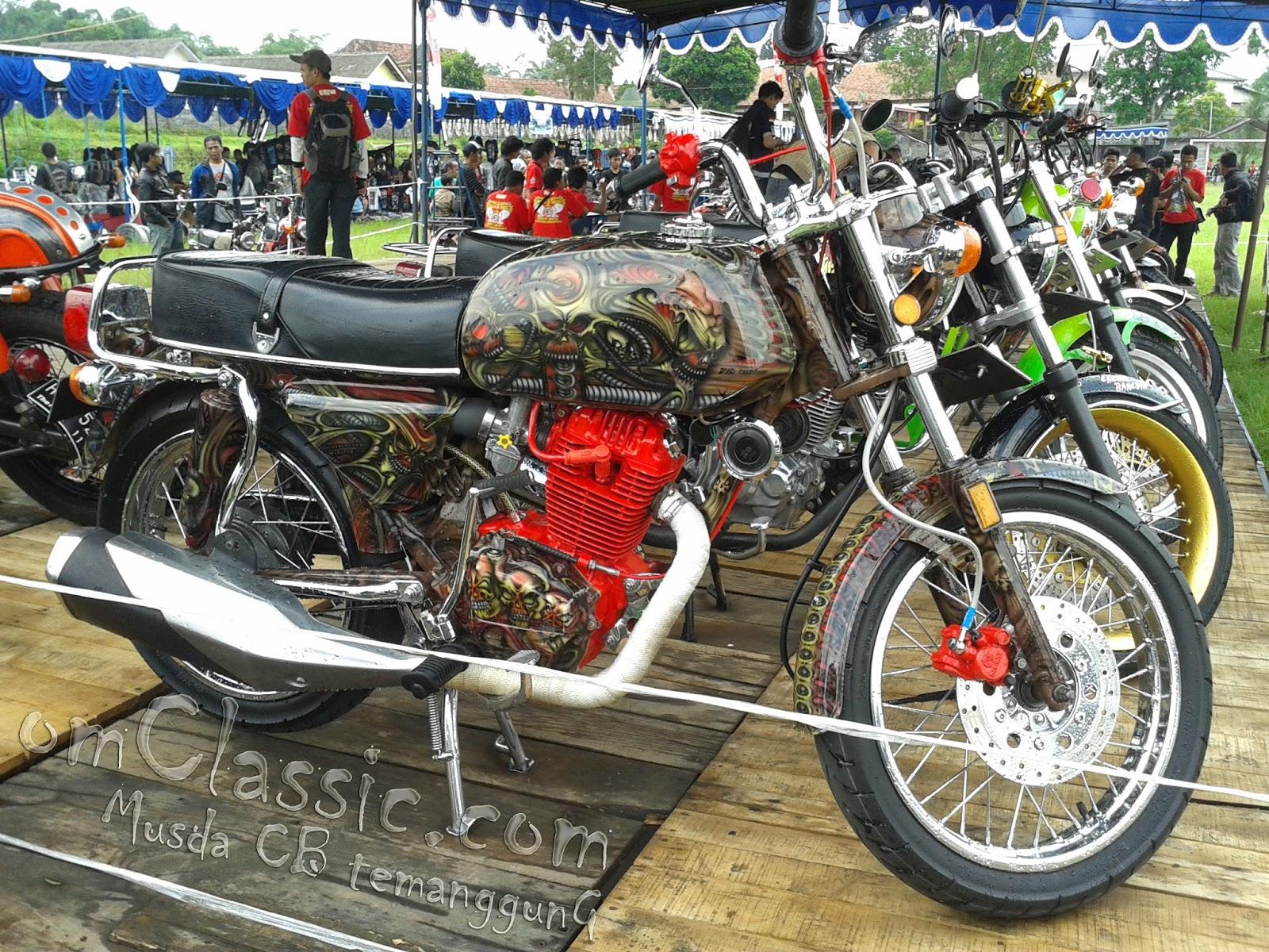 Foto Modifikasi Honda CB 100 Terbaru April 2016 Seribu Kabar