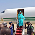 Wife of the President, Aisha Buhari flown Abroad to treat a neck pain