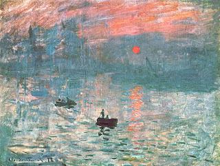 """What is the meaning of the literary term, """"Impressionism""""? Analise the term with examples."""
