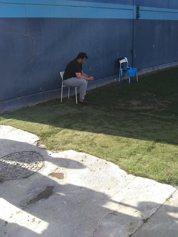 Málaga, Al-Thani estuvo presente en el primer entrenamiento de Víctor Sánchez