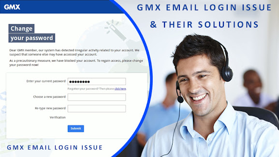 GMX email login issue