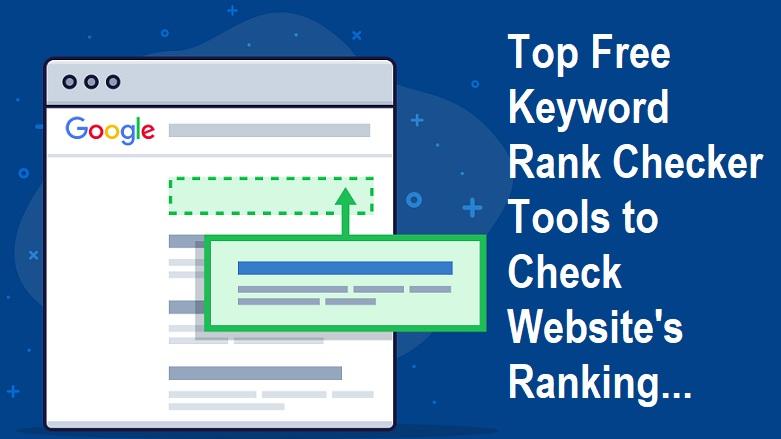 Free Keyword Rank Checker Tools