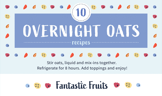 10 Healthy Overnight Oats Recipes