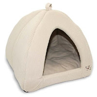 Most cats love cozy tent cat beds