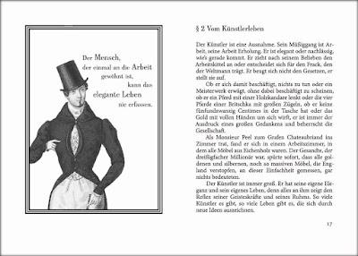 Honoré de Balzac: Vom Künstlerleben - aus: Über das elegante leben - Traité de la vie élégante