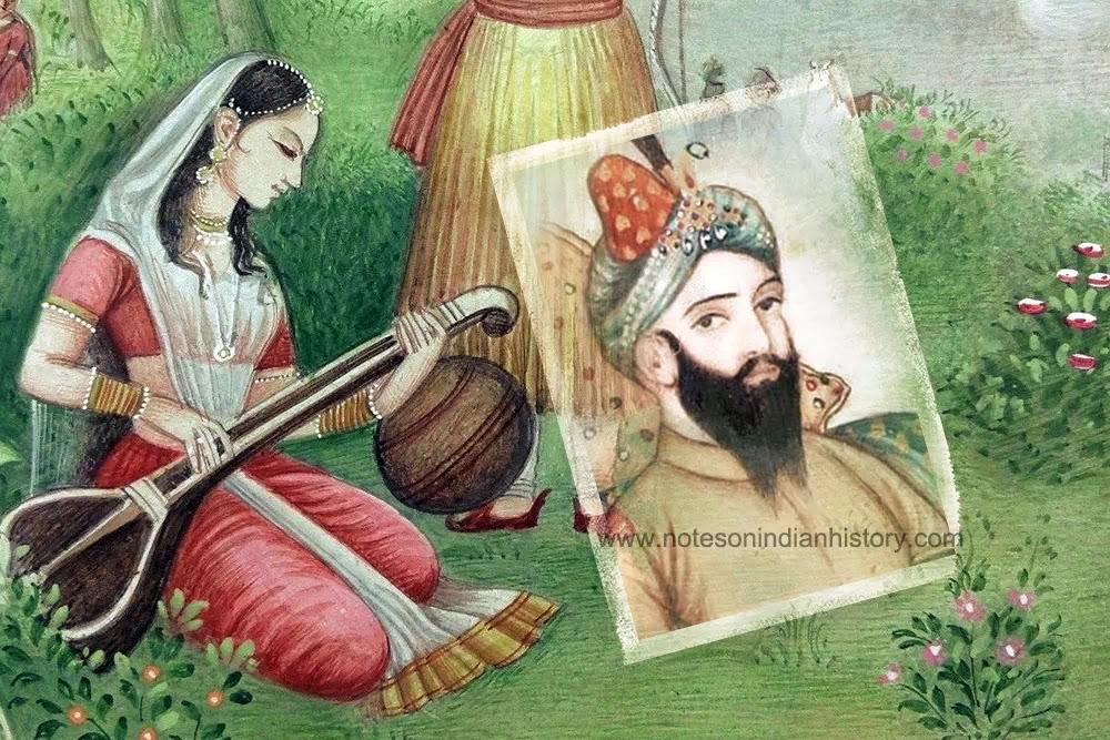 Historical Romance: Rupmati and Baz Bahadur